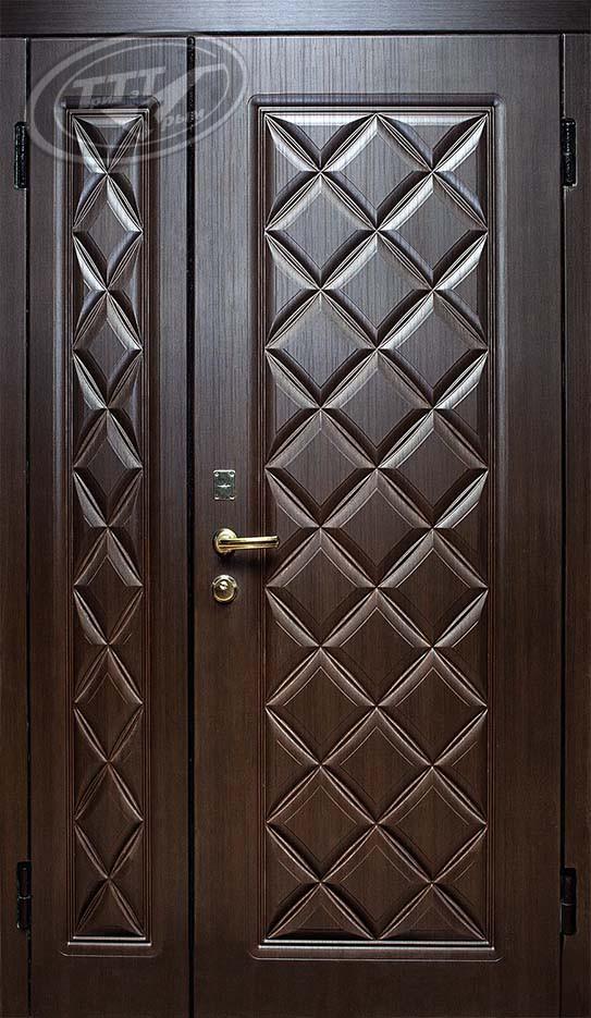 Лондон двустворчатая металлическая дверь