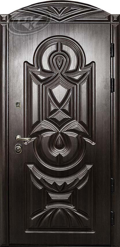 Входная дверь «Статус Black» 3D