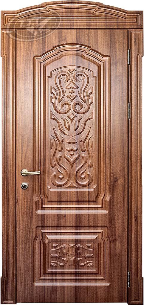 межкомнатная дверь цвет орех