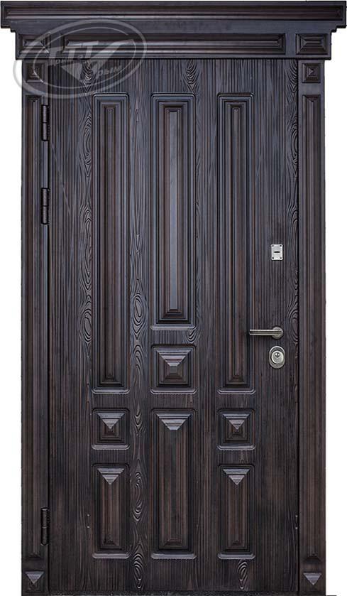 Дверь для дома «Легион 3D Elit» полиуретан