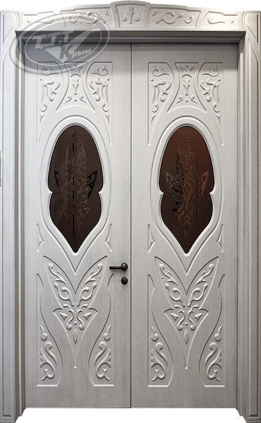 Двустворчатая межкомнатная дверь Роксолана (равноценное ½)