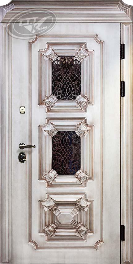 Дверь для загородного дома «Эталон 3D» Полиуретан