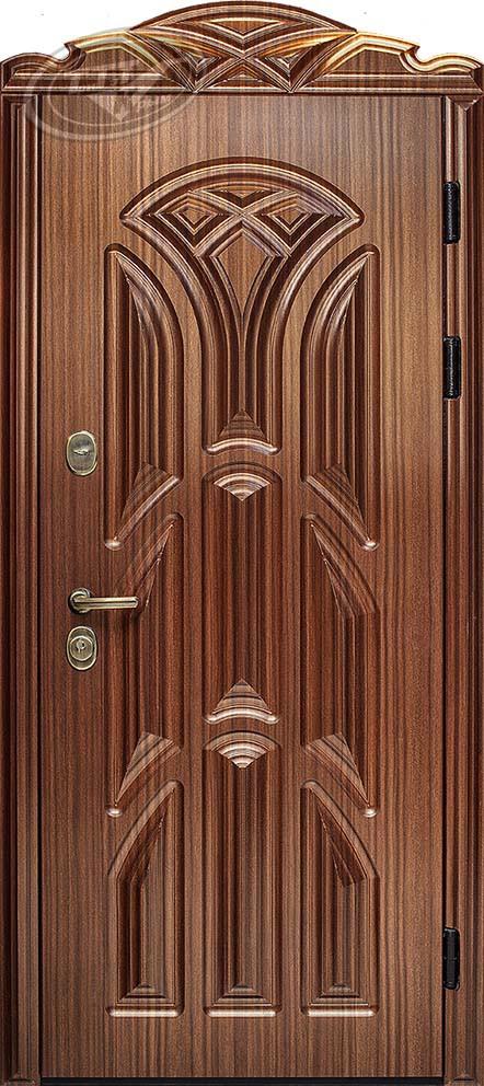 Входная металлическая дверь «Лотос» 3D
