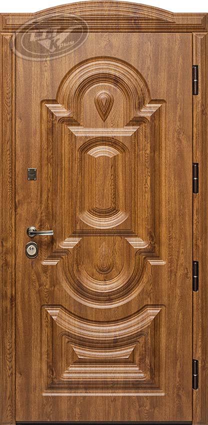 Металлическая входная дверь «Статус 3D люкс»