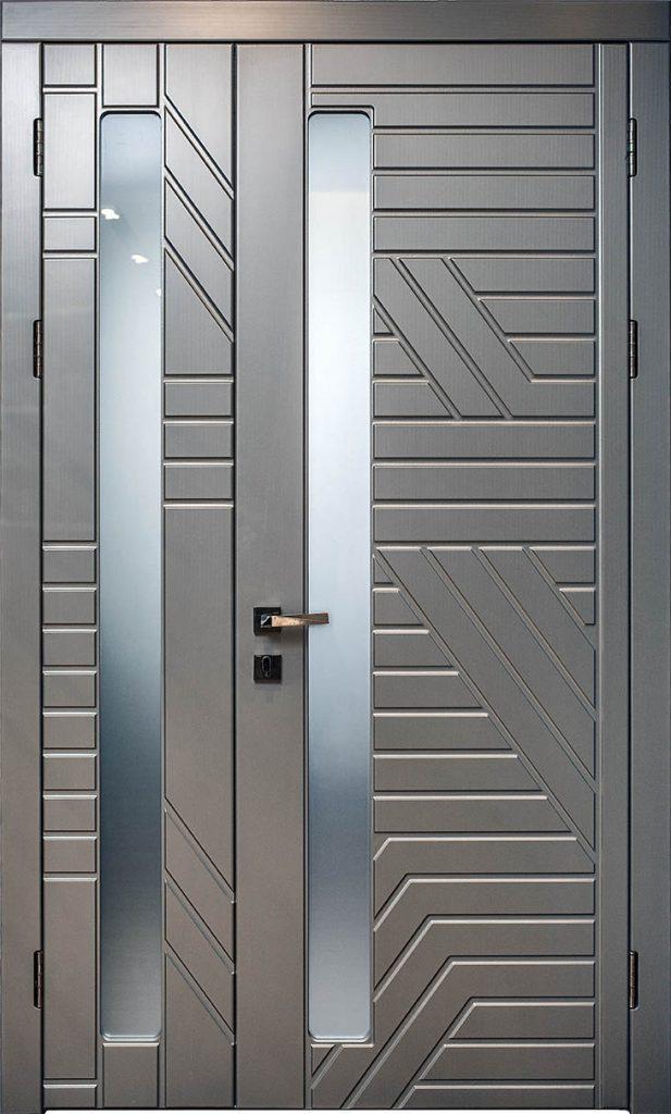 Межкомнатная дверь Титаниум  (неравноценное открывание 2/3, блок до 1200,00)