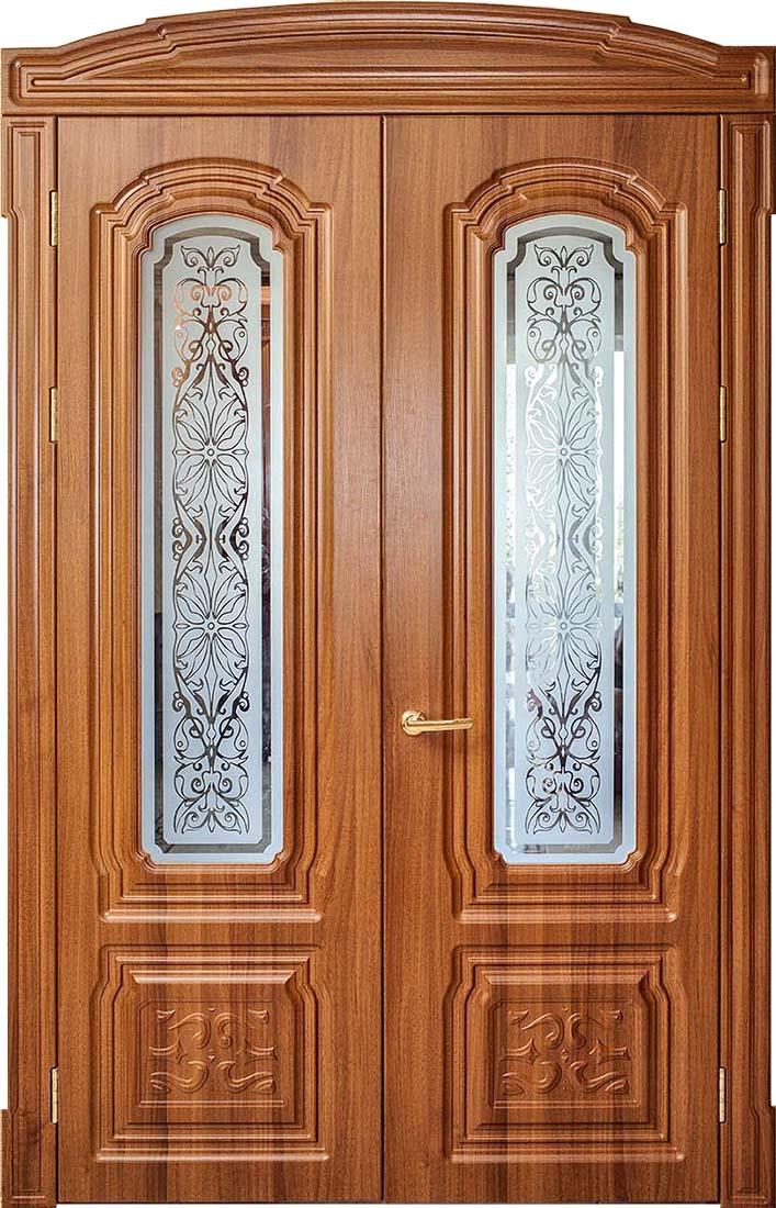 купить двустворчатые межкомнатные двери