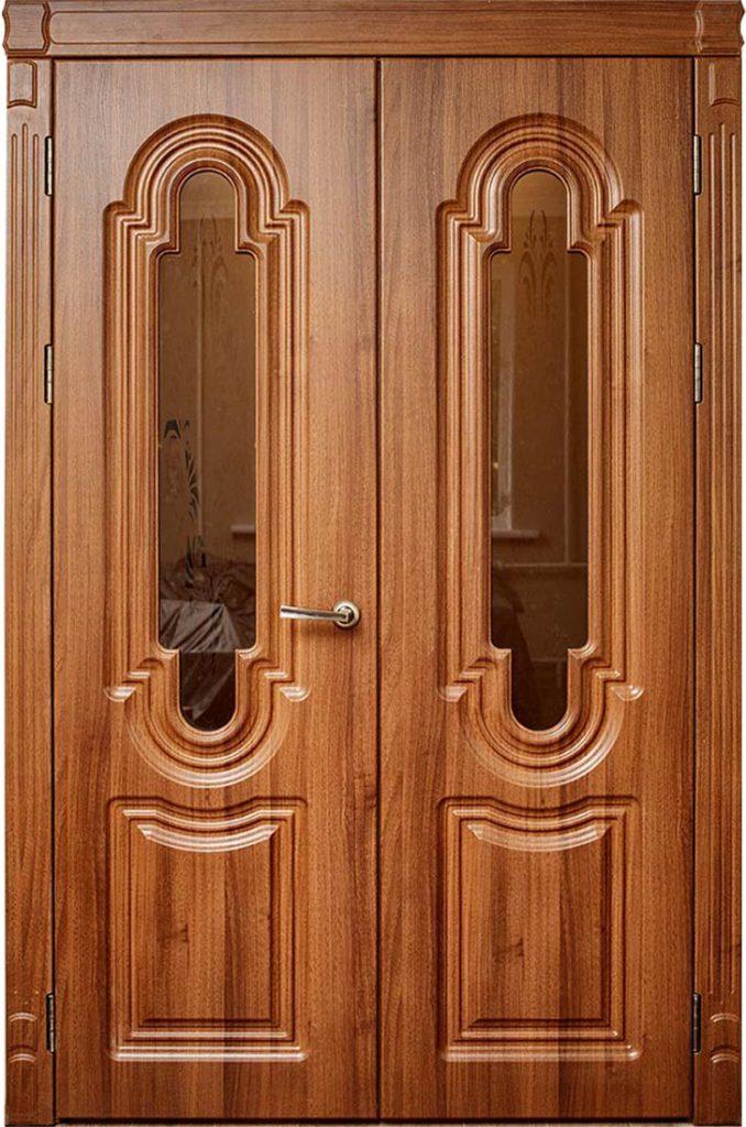 Межкомнатная дверь Статус М1 (равноценное открывание ½ )