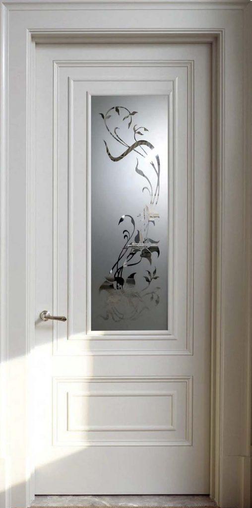Межкомнатная дверь со стеклом Romantic