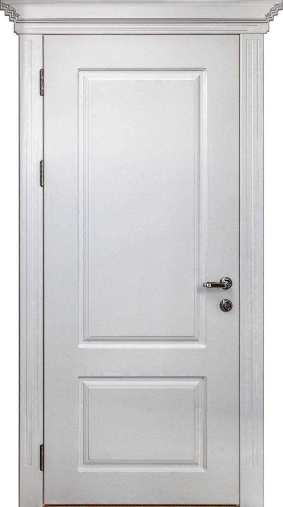 Межкомнатная белая  дверь Леврон