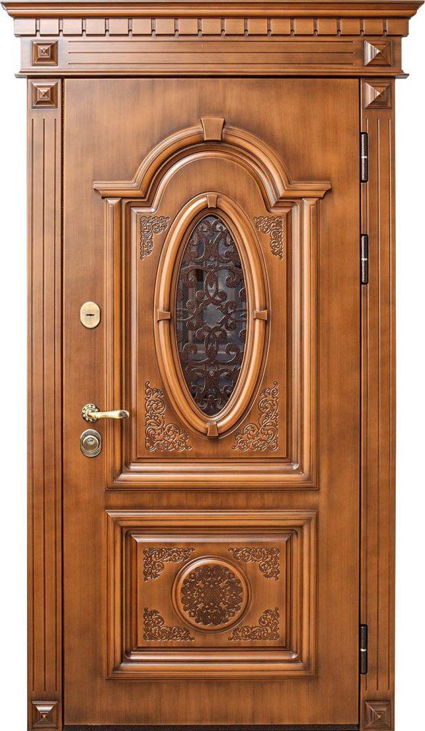 Входная дверь в частный дом Монарх