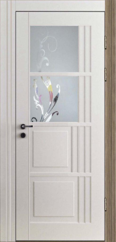 Межкомнатная дверь со стеклом Vanguard