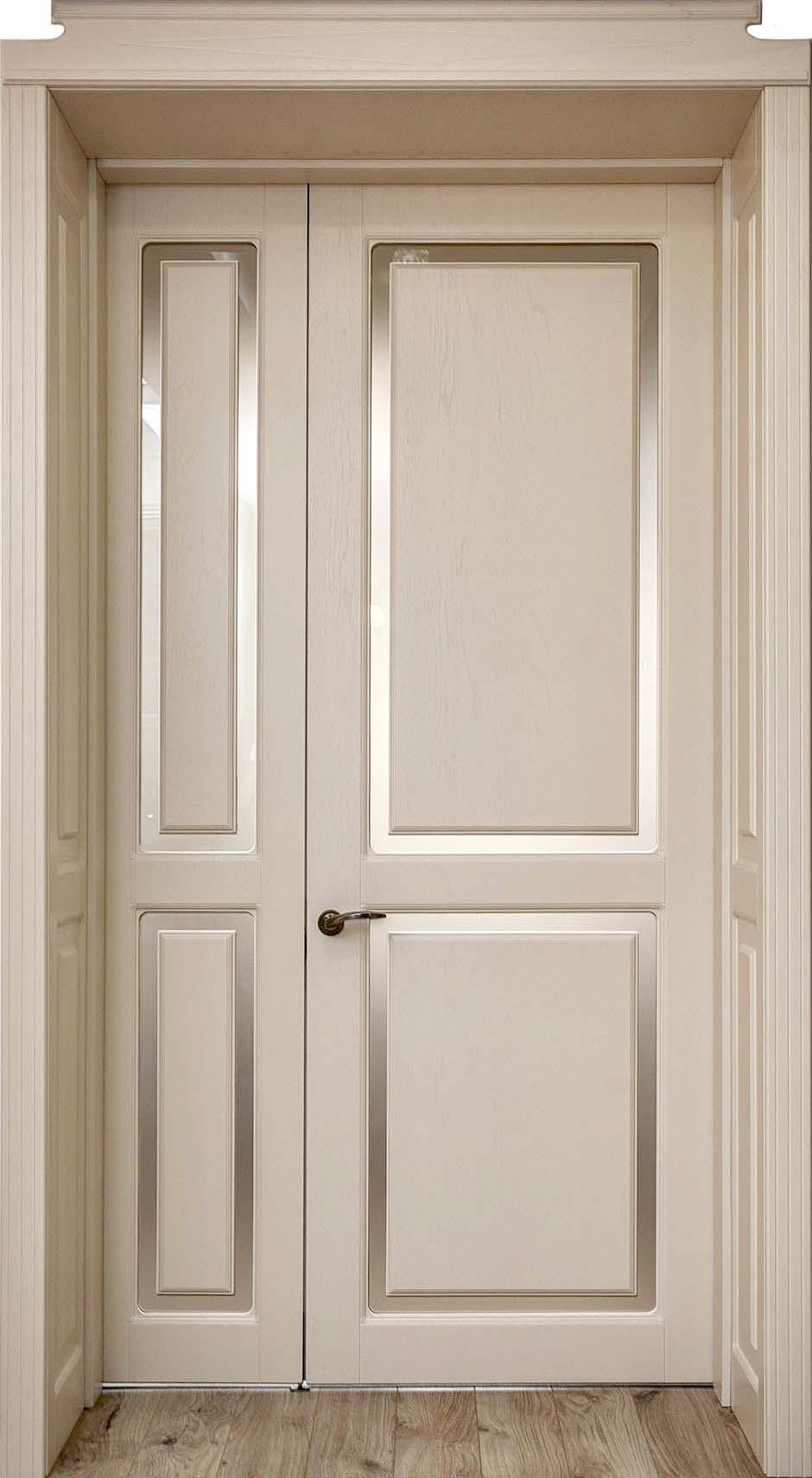 Межкомнатная дверь двустворчатая