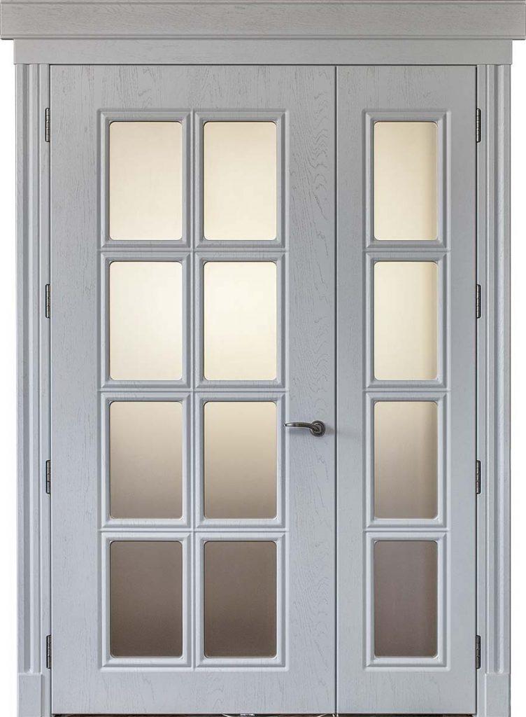 Межкомнатная двустворчатая дверь Dali