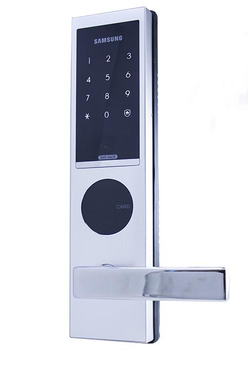 Надежный электронный врезной замок Samsung SHS-H635/6020