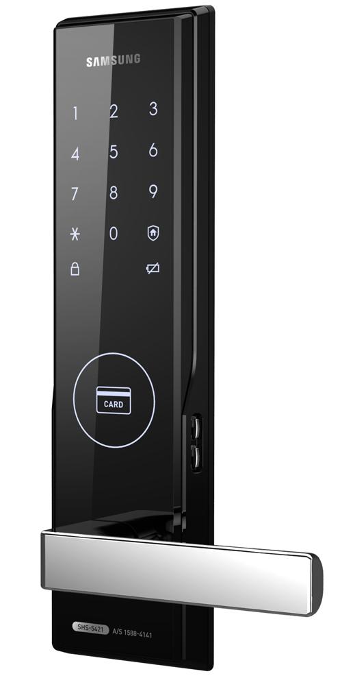 Электронный замок Samsung shs 5050 h505 с сенсорным широким экраном и двойным стальным ригелем